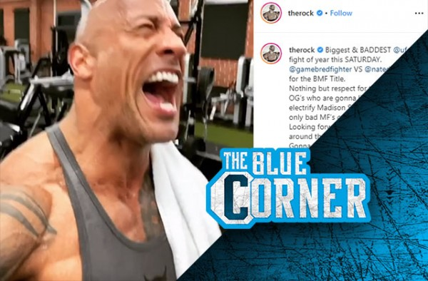 Wrestle World The Rock cuts an electrifying promo for